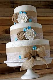 Fanciful Ideas Rustic Wedding Cakes With Burlap And Marvelous Top 25 Best On Pinterest Delicious