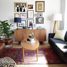 Black Leather Couch Living Room Ideas by Mid Century Modern Living Room Design Rectangle White Laminated