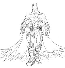 More Images Of Batman Colouring Games