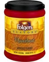 Folgers Flavors Hazelnut Ground Coffee 115 Oz