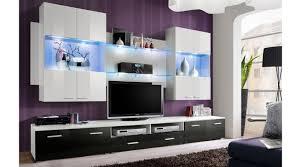 00999 system space x wohnzimmer wohnwand weiss schwarz