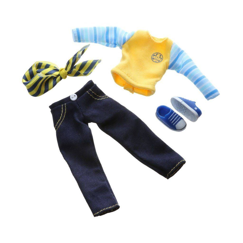 Lottie Doll Outfit Brownie Clothing Set