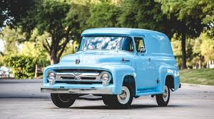 100 1956 Ford Truck F100 Panel