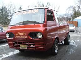 100 Ford Econoline Truck 1961 FORD ECONOLINE PICKUP SHOP TRUCK GASSER