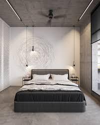 beton monochrome innenräume integrieren glaswand zimmer