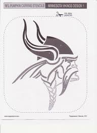 Owl Pumpkin Carving Templates Easy by Minnesota Vikings Pumpkin Stencil Sport Logos Pinterest