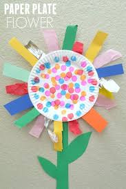 Easy Flower Crafts For Preschoolers Preschool Images Day On How To Make Paper Flowers