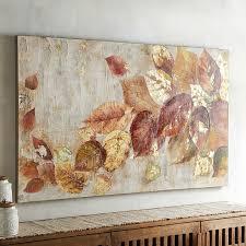 Tumbling Leaves Art