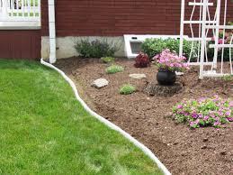 Garden Design With Backyard Landscaping White Landscape Edging