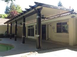 Diy Under Deck Ceiling Kits Nationwide by Rafter Tails Style Wood Grained Aluminum Patio Cover Available In