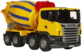100 Cement Mixer Toy Truck Bruder Scania RSeries MYTOYCOZA