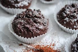 vegane rote bete schoko muffins