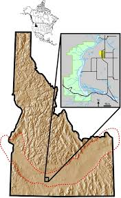 location of hagerman fossil beds national monument within idaho