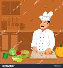 Illustration S Restaurant Kitchen Clipart Stock Vector Banner Interiors Dining