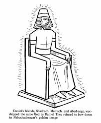 The Greatest King Of Ancient Babylon Nebuchadnezzar Colouring Page