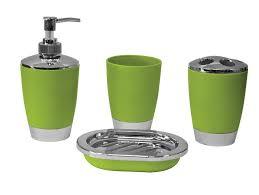 bathroom accessory set tumbler lotion dispenser soap tray gift
