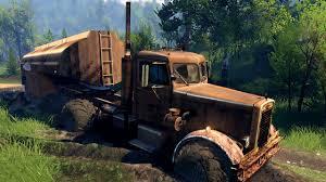 SpinTires 03.03.16 Peterbilt 281 Truck - YouTube