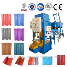 cement roof tile machine cement roof tile machine with