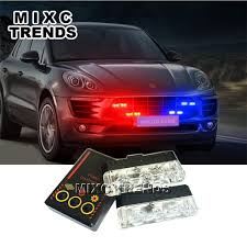 Harga Murah White 18 Led Strobe Police Flashing Warning Dash Light ...
