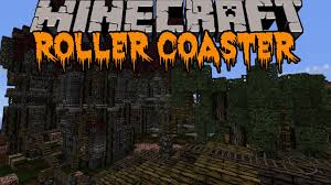 Scary Things To Do On Halloween by Minecraft Halloween Roller Coaster Huge Scary Roller Coaster