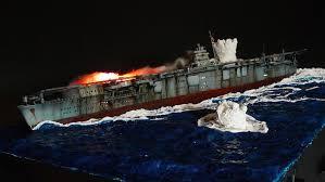 Brittanic Sinking by Britannic Wreck Model