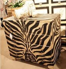 I pinned this from the Safari Chic Animal Print Furniture
