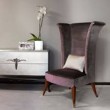 High Back Wing Chair Bedroom Contemporary With Contemporary ...
