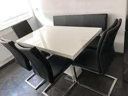 esszimmer set tisch stühle sitzbank