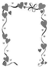 Wedding Page Border Clipart library