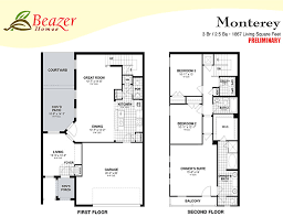 Beazer Homes Floor Plans Florida by Sumerlin At Bartram Park Townhomes And Terrace Homes In