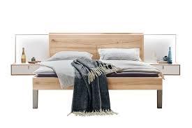 thielemeyer bett meta mit nachtkonsolen paneelen möbel