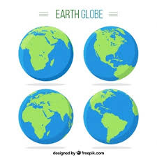 Earth Vectors s and PSD files