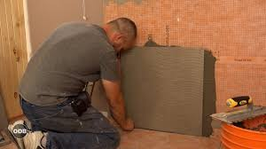 24 X 24 Inch Ceiling Tiles by How To Install 24 X 24 Porcelain Tile On The Shower Wall Youtube