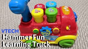 100 Vtech Hammer Fun Learning Truck Toy Review YouTube