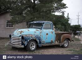 100 Texas Trucks Old Chevrolet From The 1950s In Alpine Stock Photo