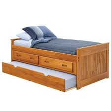 Twin Captains Bed With Trundle As Twin Beds For Kids For Twin Bed