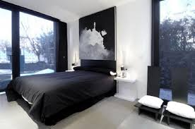 Home Ideas Bedroom Decorating For Men Design Young Black And White