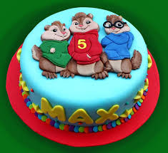 Alvin And The Chipmunks Cake Decorations by 13 Best Idee Cake Alvin Images On Pinterest Chipmunks Birthday