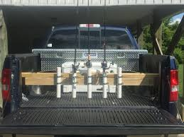 DIY Truck Bed Fishing Rod Rack/Holder | Fishing Hacks | Pinterest ... Rod Rack For Tacoma Rails The Hull Truth Boating And Fishing Forum Corpusfishingcom View Topic Truck Tool Box With Rod Holder Just Made A Rack The Bed World Building Bed Holder Youtube Bloodydecks Roof Brackets With Custom Tundratalknet Toyota Tundra Discussion Ive Been Thking About Fabricating Simple My Truck Diy Rail Page 3 New Jersey Surftalk Antique Metal Frame Kits Tips For Buying Best 2015 Ford F150 Xlt 2x4