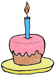 Confetti clipart birthday cake 4