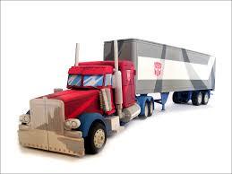 G1 Optimus Prime Truck Model