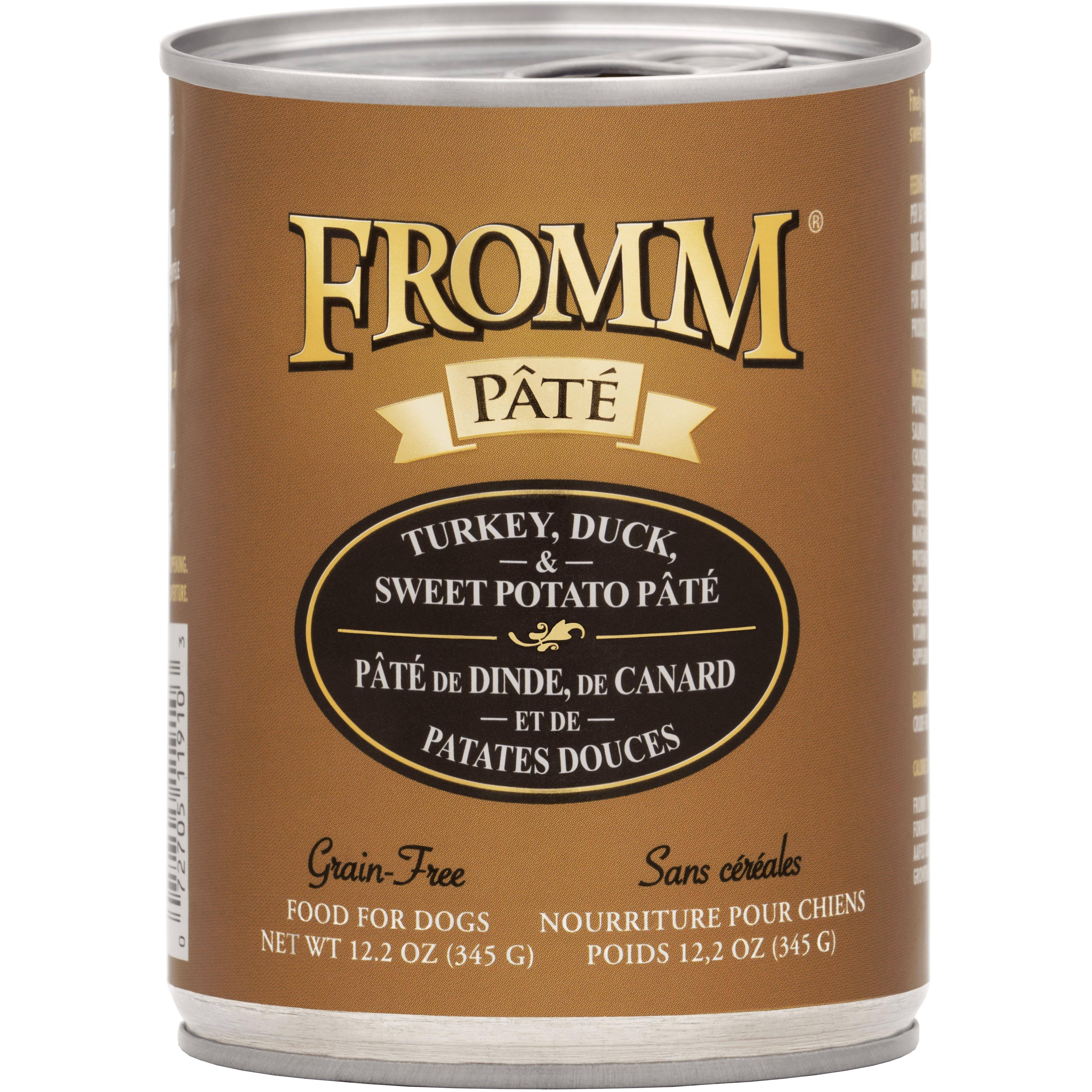 Fromm Grain Free Turkey, Duck & Sweet Potato Pate Dog Food