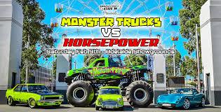 100 Monster Truck Horsepower S VS _Event Banner Crew