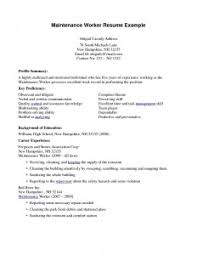 Commercial Cleaning Resume Examples
