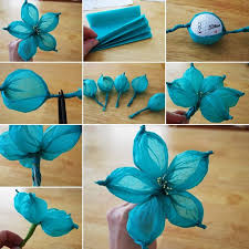 Fun Crafts Made From Tissue Paper