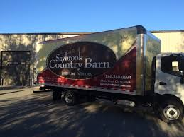 100 20 Ft Box Truck Vehicle Wrap A Ft For Saybrook Country Barn In CT