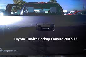 Toyota Tundra Backup Camera 2007-13 For Aftermarket Radios (Handle ... Wireless Ir Rear View Backup Camera Night Vision System 7 Monitor 9 Digital View Backup Reverse Camera System Safety For Truck 43 In Camerapkc1bu4 The Home Depot 2013 Toyota Tacoma Pickup Truck Testing Out Rear Mirror Add A Wireless Backup Camera To Your Car Or Truck For Just 63 Vehicle Cameras Plainwell Mi Automotive Specialty My Car Does What Base Model Suvs Trucks And Minivans With Standard Rearview Trailering Available Silverado Miny Cmmm2 Rydeen Mobile Electronics Best Aftermarket Cars 2016 Blog Rated Helpful Customer Reviews