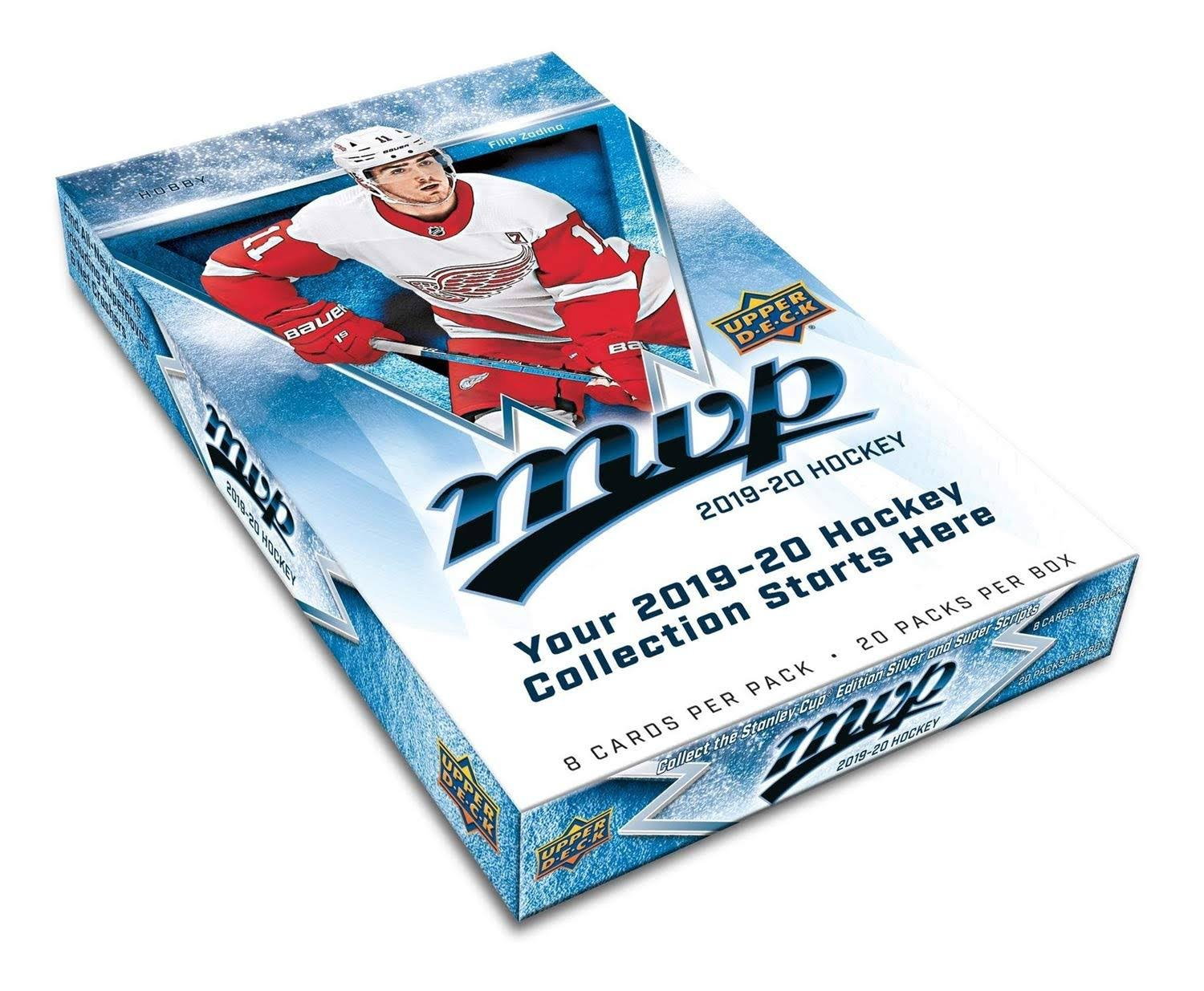 2019-20 Upper Deck MVP Hockey Hobby Box