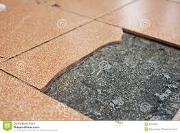 broken floor tiles stock photo image of weathered 35558808