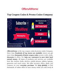Top Coupon Codes & Promo Codes Company By Offersathome - Issuu Victorias Secret Coupons Only Thread Absolutely No Off Topic And Ll Bean Promo Codes December 2018 Columbus In Usa Top Coupon Codes Promo Company By Offersathome Issuu Victoria Secret Pink Bpack Travel Bpacks Outlet Beauty Rush Oh That Afterglow Sheet Mask Color Victoria Printable Coupons 2019 Take 30 Off A Single Item At Fgrance 15 75 Proxeed Coupon Harbor Freight Code Couponshy This Genius Shopping Trick Just Saved Me Ton Hokivin Mens Long Sleeve Hoodie For 11